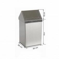 KRS90ÇK- Stainlesss Steel Dust Bin