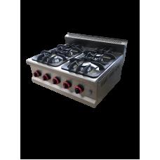 SGC-7030 Boiling Top, Gas W. Four Open Burners
