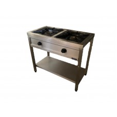 AGO-10050TR Double Gas Cooker with Stand