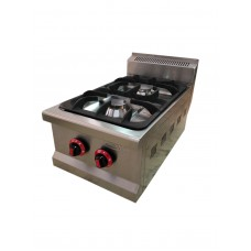 SGC-7010 Boiling Top, Gas W. Two Open Burners
