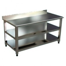 KT-6100-BSIM Working Table - With Bottom/Mid Shelve