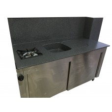 KDO-160-M Cabinet Table 1 Gas Cooker 1 Washing Sink