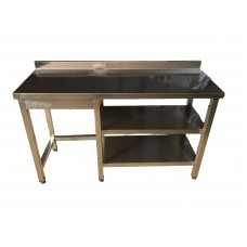 KO-100 Working Table, Middle and Bottom Shelve