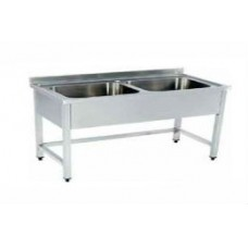 KT-550 Washing Sink - Two Bowls