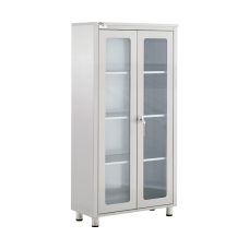 MDC - Equipment Cabinet - Glass Door / 4 Shelves
