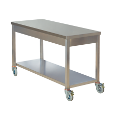 Movable Working Table - One Shelves