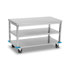 Movable Working Table - Two Shelves